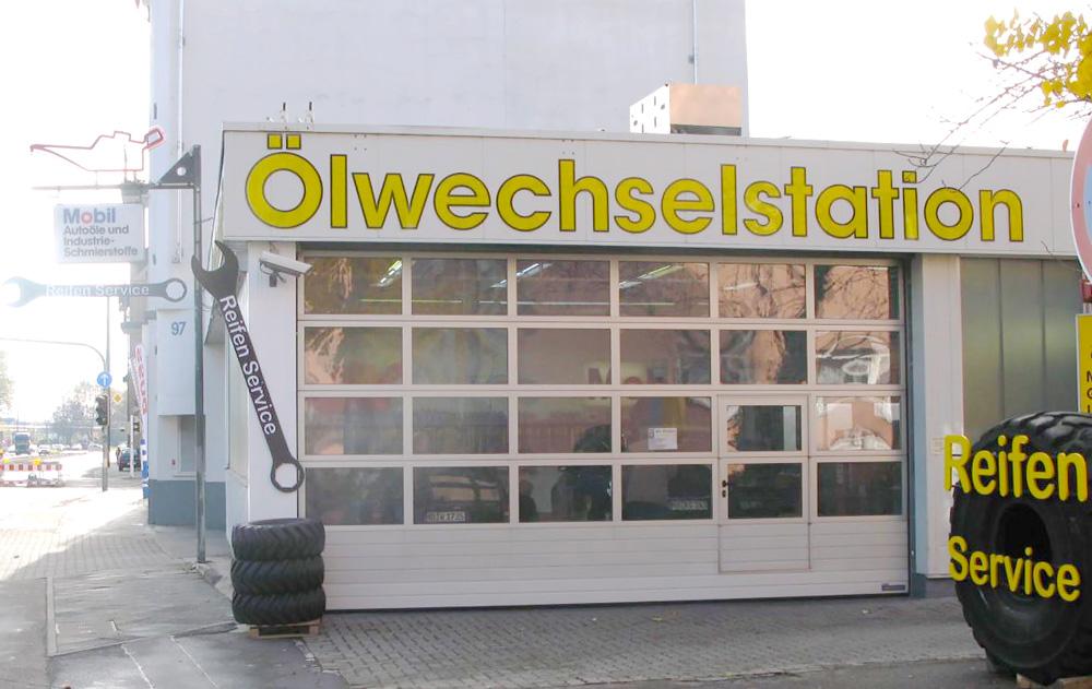 Bild Ölwechselstation Mannheim